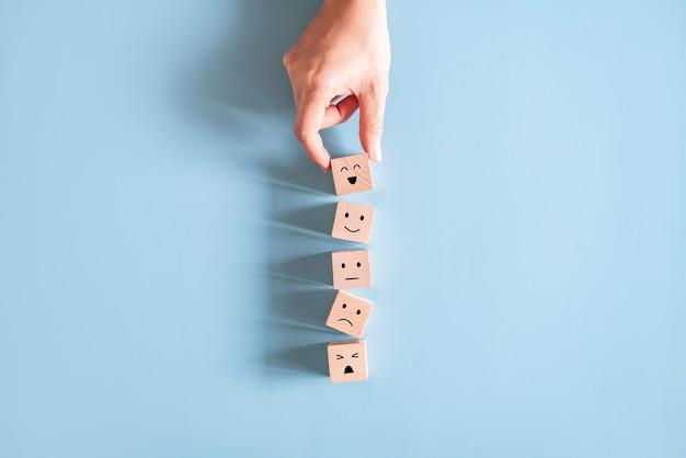 Konzepte zur bewertung des kundenservice und zur zufriedenheitsumfrage