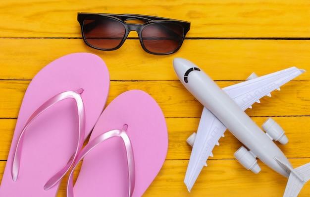 Konzeption eines resorts, strandurlaubs oder tourismus