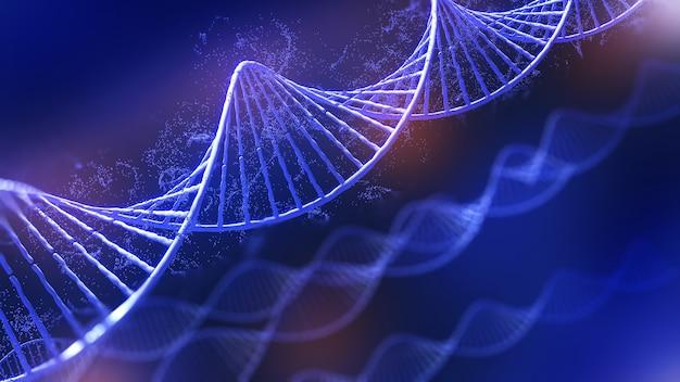 Konzeptionelle hintergrunddarstellung der dna-strukturgenetische bearbeitungstechnologie für lifedna