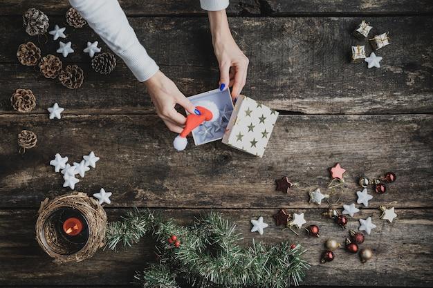 Konzeptionelles bild der weihnachtszeit