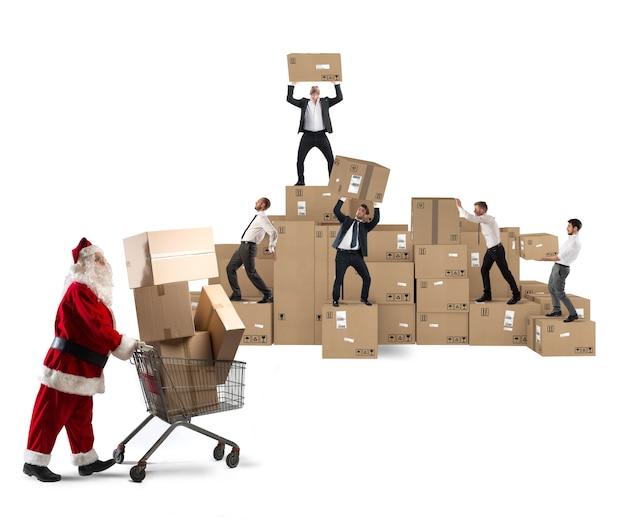 Kooperation für weihnachtsgeschenke