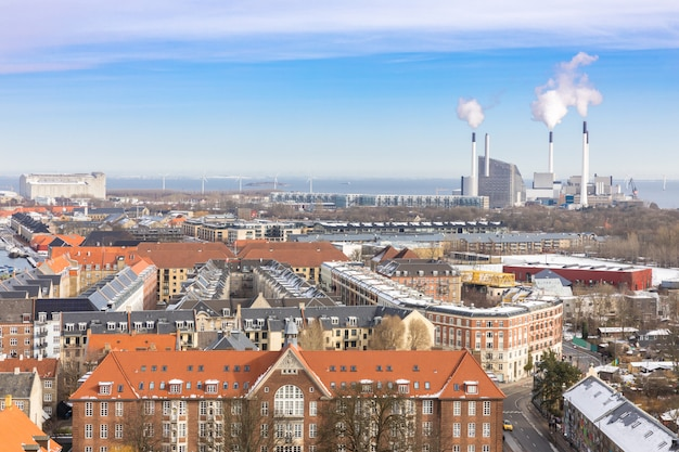 Kopenhagen aus der luft