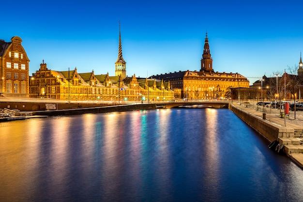 Kopenhagen dänemark nacht