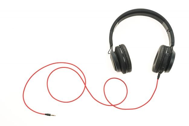 Kopfhörer-audio zum anhören