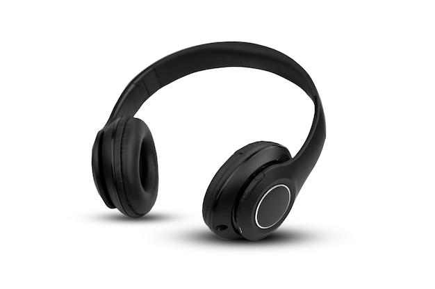 Kopfhörer auf weißem hintergrund isolieren
