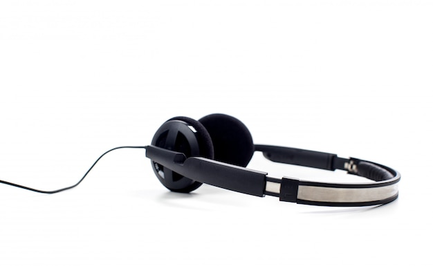 Kopfhörer. isoliert