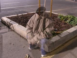 Kopflosen, obdachlose gespenst