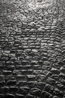 Kopfsteinpflaster aus granit von blockpflaster