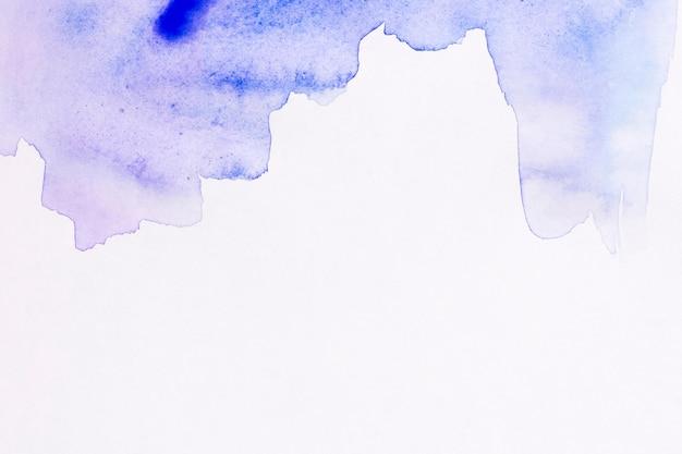 Kopieren sie den blauen aquarellhintergrund des raumes