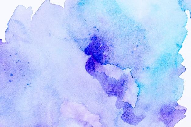 Kopieren sie den blauen aquarellhintergrund des raumgradienten