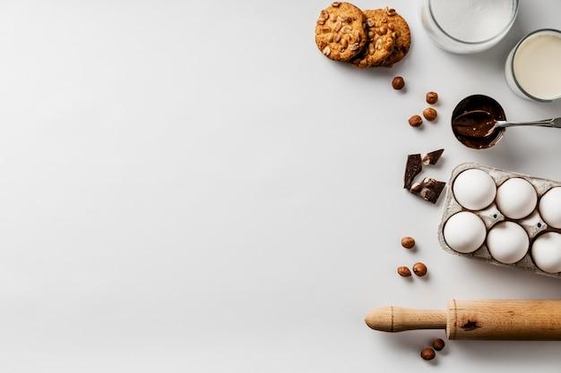 Kopieren sie die inhaltsstoffe für cookies