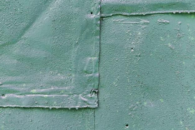 Kopieren sie die metallisch pastellgrüne wand des raums