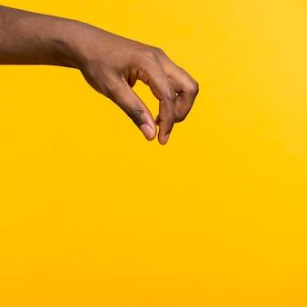 Kopierraum hand