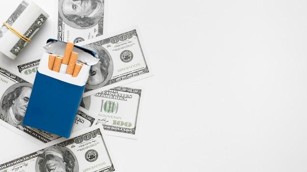 Kopierraumrechnungen und zigaretten