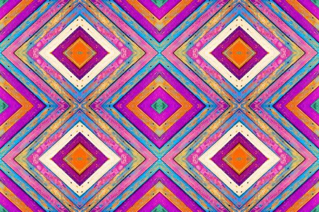 Kopierte collage von farbigen hölzernen brettern mit alter farbe. textur hintergrund