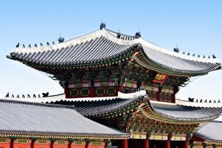 Koreanisch dach