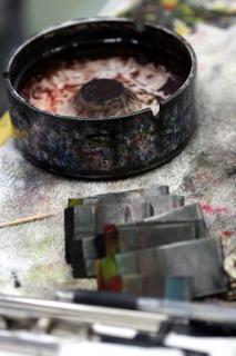 Koreanisch maler werkzeuge