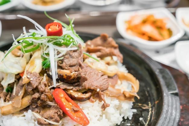 Koreanisch traditionelles essen