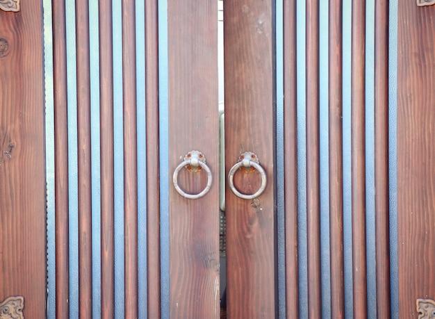 Koreanisches traditionelles architekturholz
