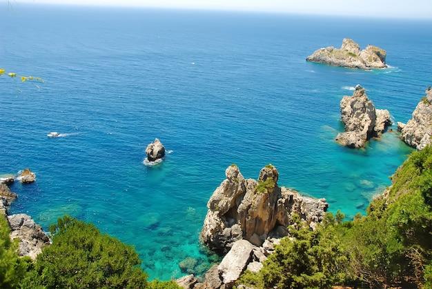 Korfu paleokastritsa, griechenland