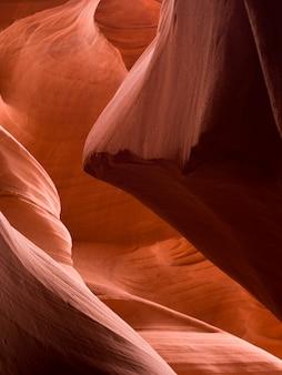 Korkenzieher-schlucht, unterere antilopen-schlucht, antilopen-schlucht, seite, arizona, usa