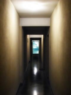 Korridor himmel, flur