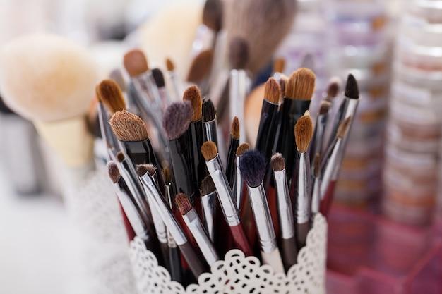 Kosmetik, make-up, beauty- und frischekonzept,