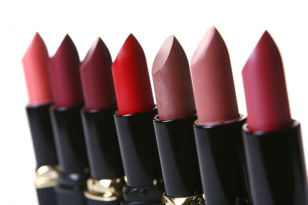 Kosmetikteile für die schönheit des gesichts