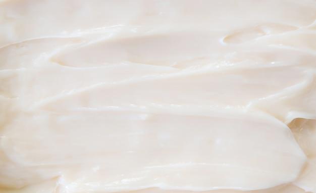 Kosmetische texturcreme für gesicht und körper.
