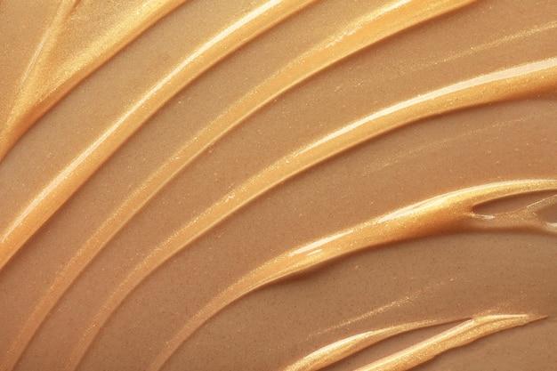 Kosmetischer schälgel-schönheitstexturhintergrund