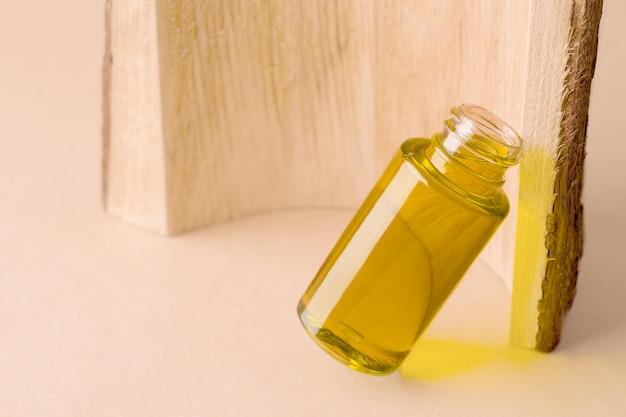 Kosmetisches bio-öl für die gesichts- und körperpflege