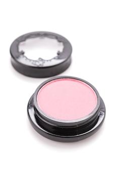Kosmetisches make-up getrennt auf weiß