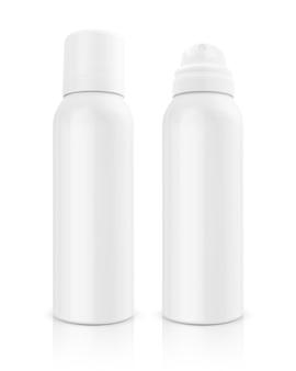 Kosmetisches produkt in einer aluminium-sprühflasche
