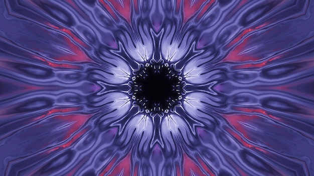 Kosmischer hintergrund mit lila laserlichtern