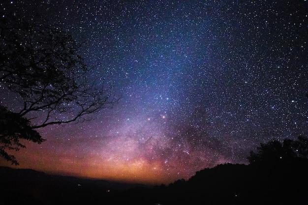 Kosmos landschaftsansicht