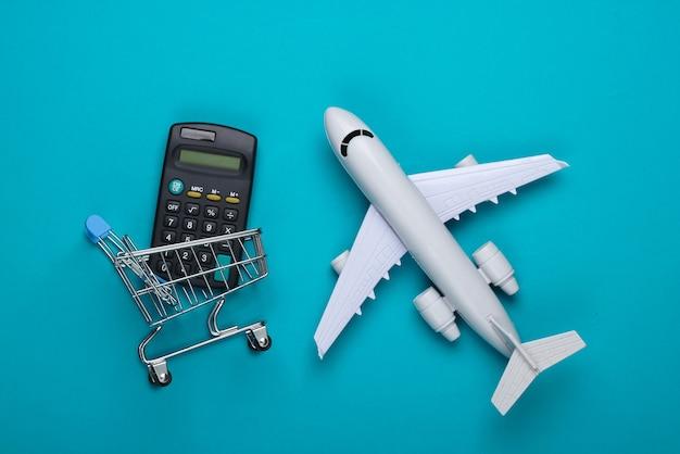 Kostenberechnung für luftlieferung, einkauf, logistik.