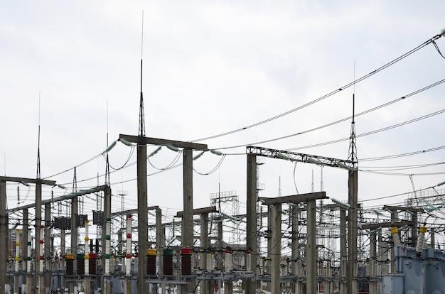 Kraftwerk ist eine transformationsstation