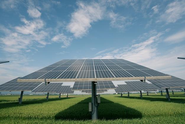 Kraftwerk mit erneuerbarer solarenergie