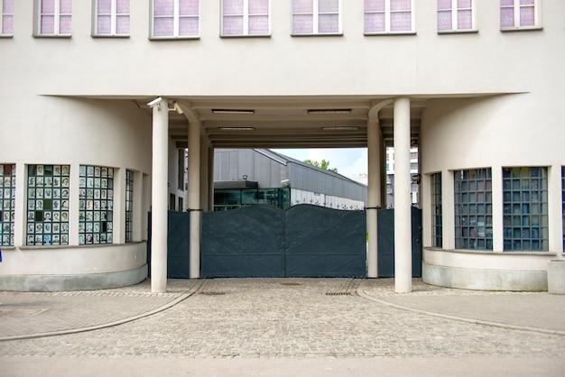 Krakau, polen - 4. juni 2014. hauptgebäude, eingang zum werk von oscar schindler in krakau, polen