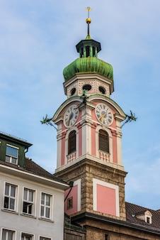 Krankenhauskirche des heiligen geistes in innsbruck