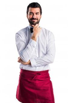 Krawatte job modernen ausdruck gedanken