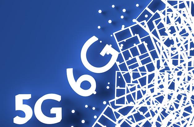 Kreative 5g- und 6g-komposition