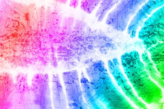 Kreative doppelbelichtung grung textur mit tie dye textil