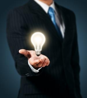 Kreative glühbirne idee