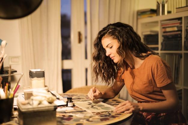 Kreative leidenschaft und hobby