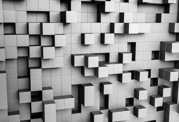 Kreative tapete mit geometrischen formen