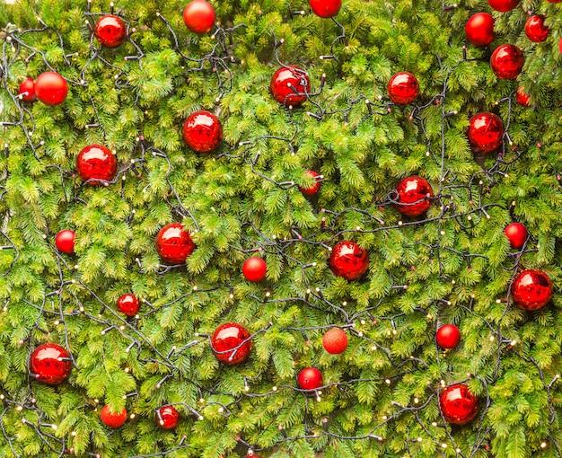 Kreativer plan gemacht von den weihnachtsbaumasten