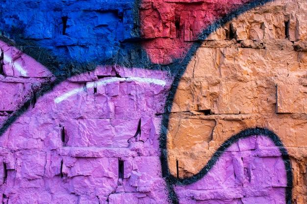 Kreativer wand-graffiti-hintergrund