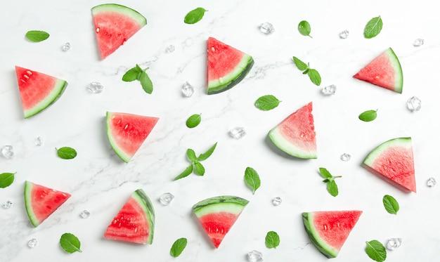 Kreativer wassermelonenhintergrund