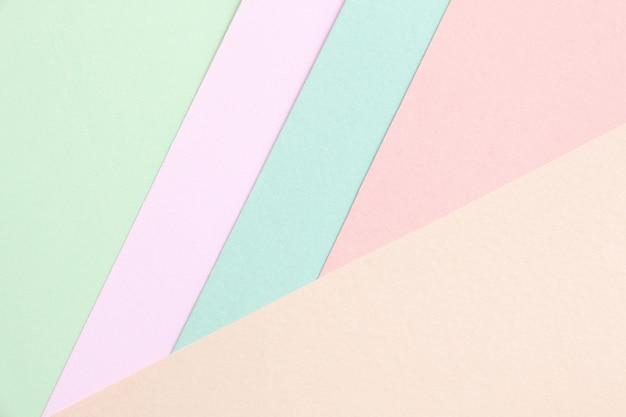Kreatives design für pastelltapeten.